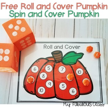 Free Pumpkin Roll and Cover Spin and Cover