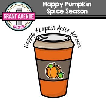 Free Pumpkin Spice Clipart