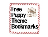 Free Puppy Theme Bookmarks!