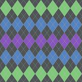Free - Purple Peacock Digital Paper Sampler {Green, Blue,