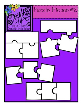 free puzzle piece templates 2 creative clips digital clipart