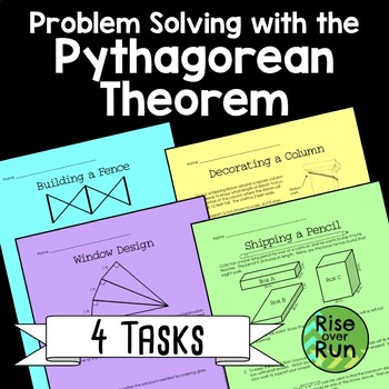 Pythagorean Theorem Real World Task, Practice or Assessment