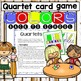 Free ~ Quartet card game ~Back to school Colors~
