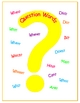 Free Question Words Poster