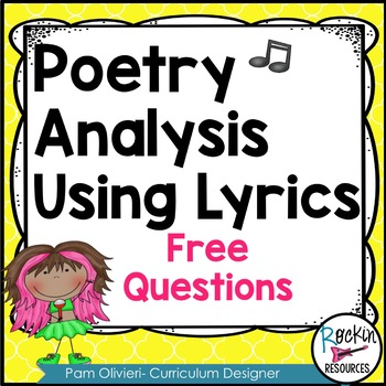 Free Questions for Analyzing Lyrics