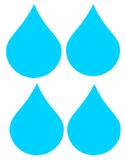 Free Rain Drop Clip Art