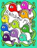 Free Rainbow Fish Clip Art