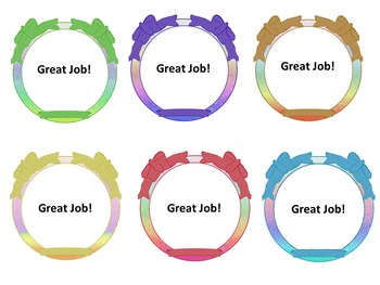 Free Rainbow Bow Frames