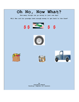 Free Read A Loud: Oh No! Now What? Elements of a Budget