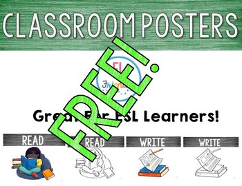 Free Read & Write Posters