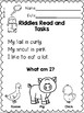 Free Riddles Read and Tasks Set 1