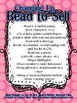Free Read to Self Poster Set