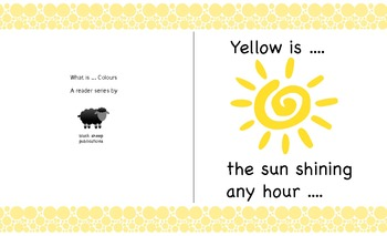 Free Reader:  What is Yellow?