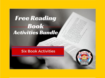 Free-Reading Activity Bundle: Six Book Projects