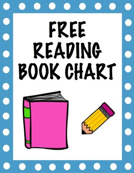 Free Reading Book Chart