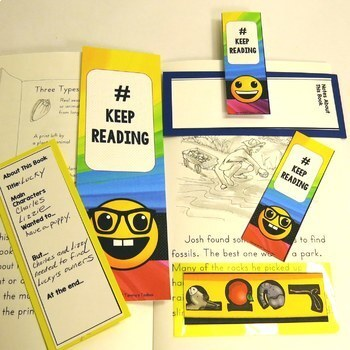 Free Reading Bookmark Ideas for Classrooms and Libraries