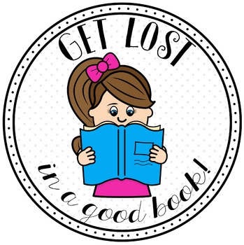 Free Reading Clipart By Grant Avenue Design