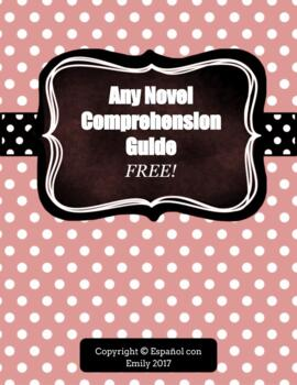 Free Reading Comprehension Note Taking Guide for Any Novel