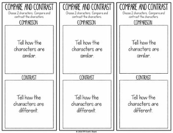 FREE Reading Comprehension Sticky Note Bookmarks