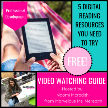 Free Digital Reading Resources You Need {Professional Development, Video Guide}