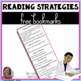 Free Reading Strategy Bookmarks