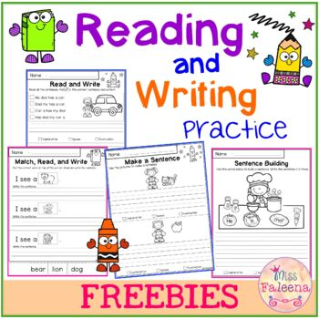 Free Reading and Writing Practice