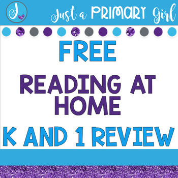 Free Reading at Home for 1st and Kindergarten