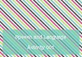 Free ~ Receptive Language Activity 001