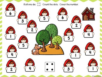 Free Red Riding Hood Roll And Cover Sample For Smart Board -Paper Copy Included