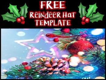 Free Reindeer Hat Template