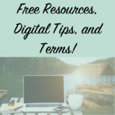 Free Resources, Digital Tips, and Newsletter Sign Ups