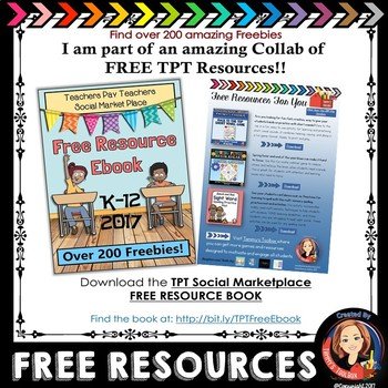 Free Resources eBook - 2017 Edition for Grades K-12