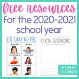 Free Resources for the 2020-2021 School Year {Talking abou