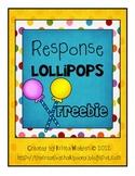 {Free} Response Lollipops