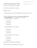 Free Response or DBQ PreWrite Strategy