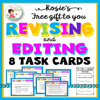Free Revising and Editing T... by Rosie's Resources | Teachers Pay ...