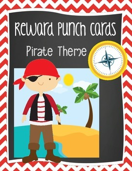 Free Reward Punch Cards - Pirate Theme {Printables}