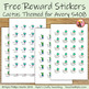 Free Reward Stickers with Cactus Theme for Avery 5408