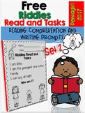 Free Riddles Read and Tasks Set 2