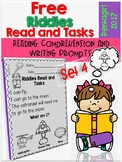 Free Riddles Read and Tasks Set 4