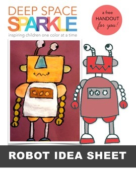 Free Robot Drawing Guide