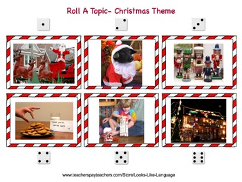 Roll A Topic- Christmas!
