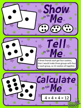 Free: Roll and Reason Poster (Helps students explain their answers)