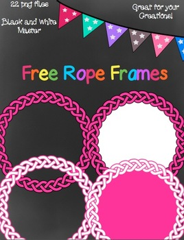 Free Rope Frames- 22 png images