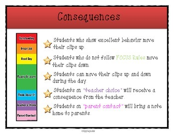 Free Rules, Rewards, and Consequence Charts