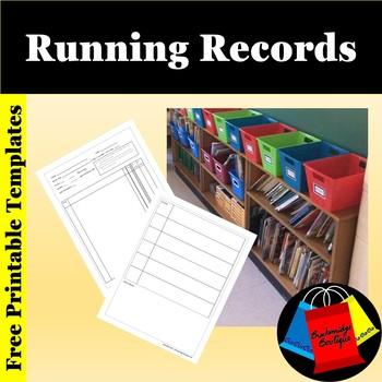 Free Running Record Template By Breckenridge Boutique Tpt