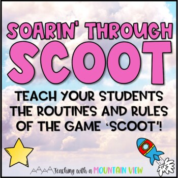 Free SCOOT Training Mission Task Cards {Back to School Classroom Management}