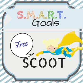 Free SCOOT sheet for SMART Goals