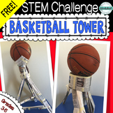 Free STEM Challenge: Basketball Tower