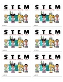 Free STEM Interactive Science Journal Labels (Printable)
